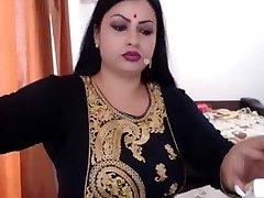 NRI INDIAN WIFE NUDE  GETTING Dressed