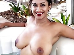 Hottest Indian Erotic Model with huge breasts