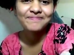 Desi 20y old college maal thirsty for 12 inch desi Lund shows all moves bathtub