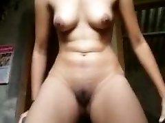 indian village girl showing honeypot and ass