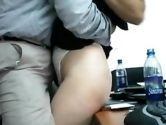 Desi wife backside grouped by her boss at office room