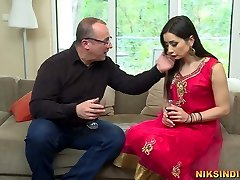 Indian Wife collective with Boss to get promotion in office