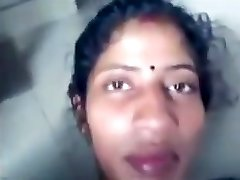 Desi Tamil wife Sandhya love colon driiled