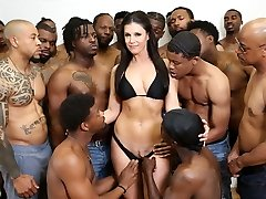 18 negro hombres gangbang india verano