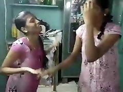 tamil lesibian college ladies with audio (viral-2018)