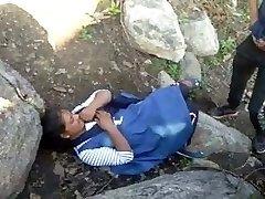 Caught Village Paki Couples Outdoor Boinking