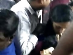 Indian bus grope