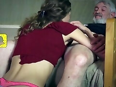 Petite Skinny Teen Services Old Dude And Luvs Being Licked [HD]