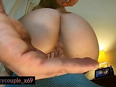 POV Amateur Teen Stepsister First Time Anal Fucked Deep In Her Ass