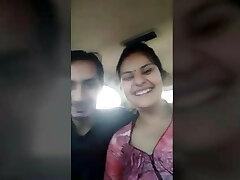 Married Guju Bhabhi payal enjoyed with Bf in Car Public sausage