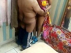 Real Bhabhi Devar desi lovemaking video chudai POV Indian