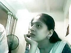 Lucknow Pakisztáni Lány szopás 4 es Indiai-Pakisztáni Muzulmán Dick a Webkamera