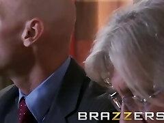 BRAZZERS - Skinny milf India Summer cheats on her husband Johnny Sins