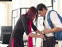 Niks Indian In Naughty Student Punished By College Teacher Rita