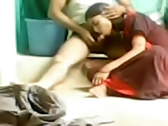 Indian inexperienced sex video of a horny couple on the floor