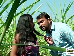 Desi indian chick romance in the outdoor jungle - teen99 - indian brief film