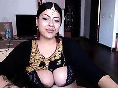 Indian college on webcam big melons