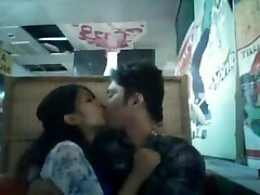Desi Bangladeshi nasty lover couple public sex in Restaurent