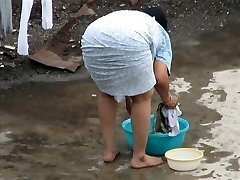 Šnipinėjimo indian Aunty - Oslas išlinkti - Grobis Voyeur