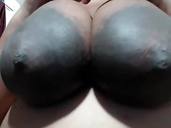 BIGGEST AREOLAS Idian Lady loves MY N-gg-r Balls