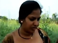 Indian Demonstrates Off Her Privates Outdoors