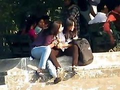 Indian Lesbians Kiss Publicly