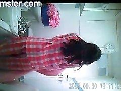 热孟加拉女孩Darshita淋浴从Arxhamster