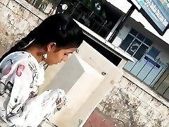 cum hot pink of salwar tüdruk