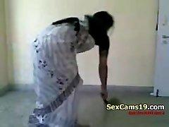 Bangla Desi Wife Fantastic Farting Home Aloneb On SexCams19