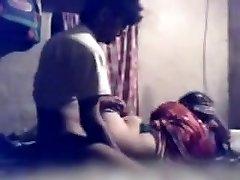 最好的业余的视频夫妇、印度的场景