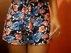 Indian Summer Dress Strip Tease