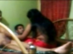 Desi friends tearing up a girl threesome
