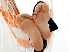 脚的女神脚挑逗窒息