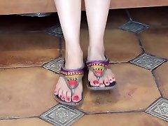 性感的印度脚