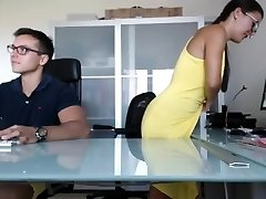 Boss And Secratary Full Fucking Show In Office