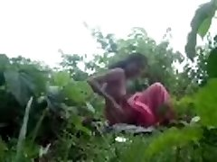 Desi Village Couple Drilling Outdoor