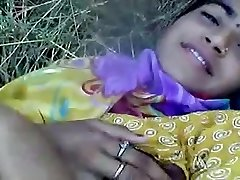 northindia gal show off outdoor and unload gal touch