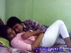 Huge-titted Desi Indian Innocent College GIRLFRIEND Fucked by BF