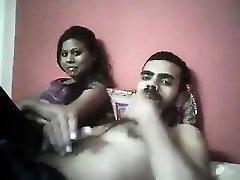 Indian hoe dual blowjob