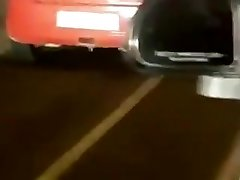 Indian Sexy Sex in the backseat of car on highway