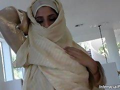 nadia ali with hefty manhood