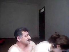 Arab or turkish guy pulverized uber-cute girl