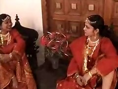 Two Indian Chicks Fucked by Their Madam