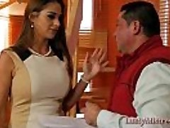 Hot Indian Housewife Uses A Delivery Guy