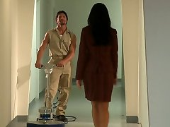 Office slut India Summer gets insatiable for wonderful janitor