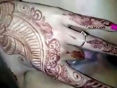 Indian Married Doll Frigging in first night
