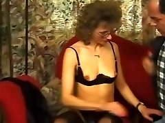 Mature in Pantyhose and Glasses Ravaged
