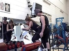 mature get assfucked by her trainer in gym buttfuck troia