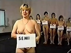 Retro Moms Naked Catfight Competition