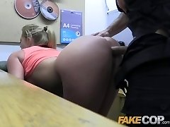 Fake Cop Scorching gym MILF pulled over and fucked